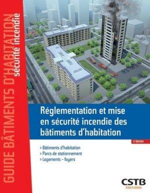 Réglementation et mise en sécurité incendie des bâtiments d'habitation - cstb - 9782868917102 -