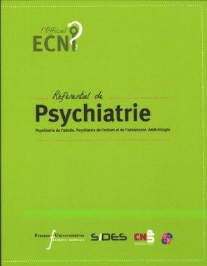 Référentiel de psychiatrie - presses universitaires francois rabelais - 9782869063778 -