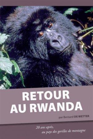 Retour au Rwanda - safran - 9782874570636 -