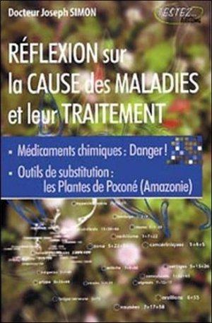 Réflexion sur la cause des maladies - testez - 9782874610165 -