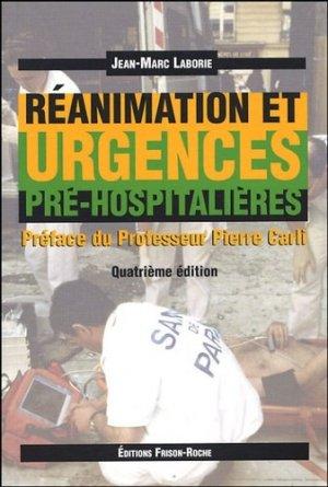 Réanimation et urgences pré-hospitalières - frison roche - 9782876714632 -