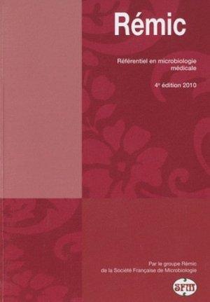 Rémic - societe francaise de microbiologie - 9782878050257 -