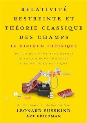 Relativité restreinte et théorie classique des champs - presses polytechniques et universitaires romandes - 9782889152186 -