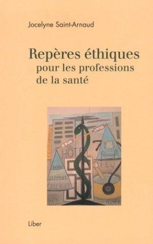 Repères éthiques pour les professions de la santé - liber canada - 9782895786757