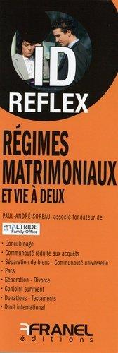 Régimes matrimoniaux et vie à deux - arnaud franel - 9782896036578 -