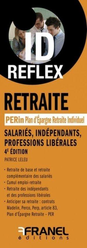 Retraite - arnaud franel - 9782896037636 -