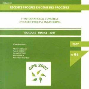 Récents progrès en génie des procédés - societe francaise de genie des procedes - 9782910239688 -
