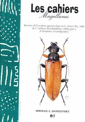 Reviews of Cordotera Species close to C. reitteri Plc, 1891 and C. ruthena Plavilshikov, 1936, part I - magellanes - 9782911545153 -
