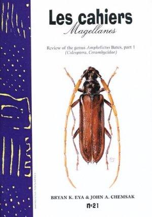 Review of the genus Amphelictus Bates, part 1 - magellanes - 9782911545320 -