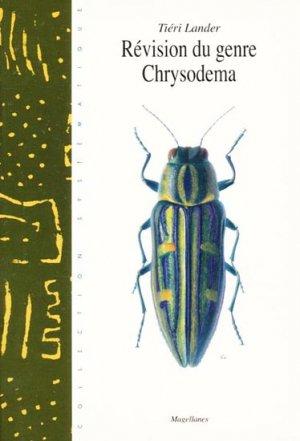 Révision du genre Chrysodema - magellanes - 9782911545344 -