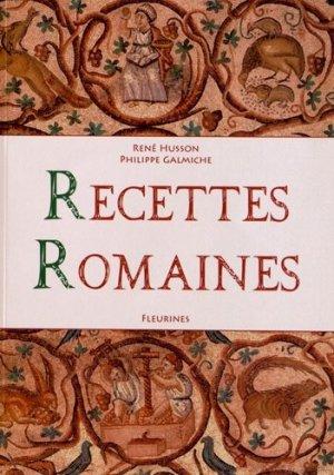 Recettes romaines - Fleurines éditions - 9782912690333 -