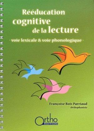 Rééducation cognitive de la lecture - ortho  - 9782914121446