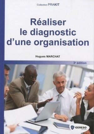 Réaliser le diagnostic d'une organisation - gereso - 9782915530988 -