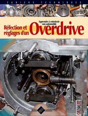 Réfection et réglages d'un Overdrive - hb publications - 9782917038185 -
