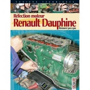 Réfection moteur Renault Dauphine - hb publications - 9782917038215 -