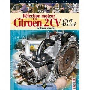 Réfection moteur Citroën 2 CV - 375 et 425 cm3 - hb publications - 9782917038321 -