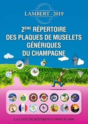 Répertoire des plaques de muselets du champagne : la cote de référence depuis 1996 - petit journal des collectionneurs - 9782954495385 -