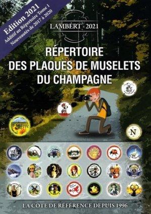 Répertoire des plaques de muselets du champagne - Petit journal des collectionneurs - 9782956877516 -