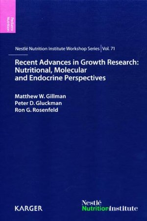 Recent Advances in Growth Research: Nutritional, Molecular and Endocrine Perspectives - karger  - 9783318022698 -