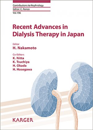 Recent Advances in Dialysis Therapy in Japan - karger - 9783318062977 -