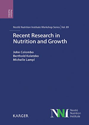 Recent Research in Nutrition and Growth - karger  - 9783318063516 -