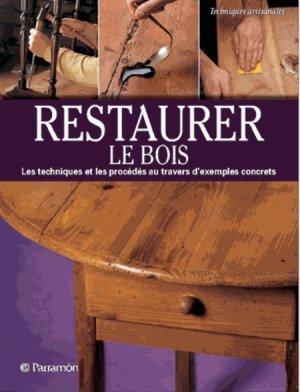 Restaurer du bois - parramon - 9791026100041 -