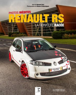 Renault RS - etai - editions techniques pour l'automobile et l'industrie - 9791028303525 -