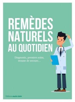 Remèdes naturels au quotidien - marie claire - 9791032303818 -