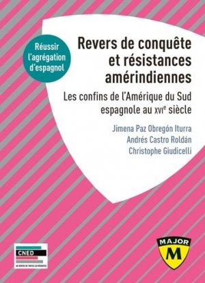 Revers de Conquête et résistances amérindiennes - belin - 9791035808785 -