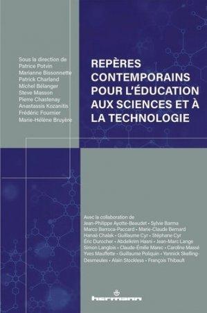 Repères contemporains pour l'éducation aux sciences et à la technologie - Hermann - 9791037004543 -