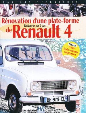 Rénovation d'une plate forme de Renault 4 - hb publications - 9791090030268 -