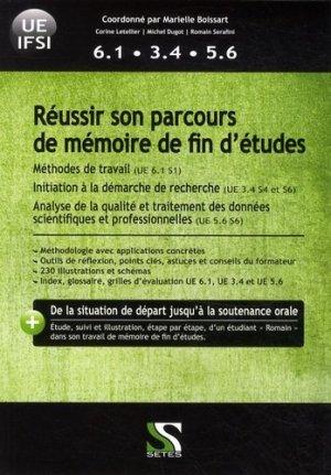 Réussir son parcours de mémoire de fin d'études - setes - 9791091515177 -