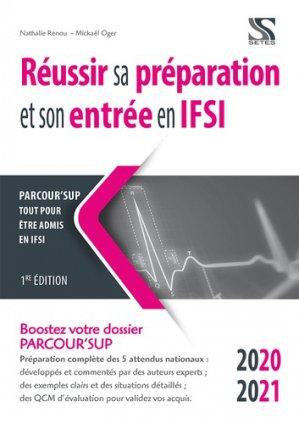 Réussir sa préparation et son entrée en IFSI - setes - 9791091515894 -