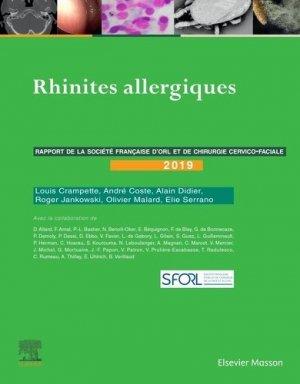 Rhinites allergiques - elsevier / masson - 9782294766770 -