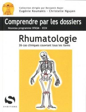 Rhumatologie - s editions - 9782356401205 -