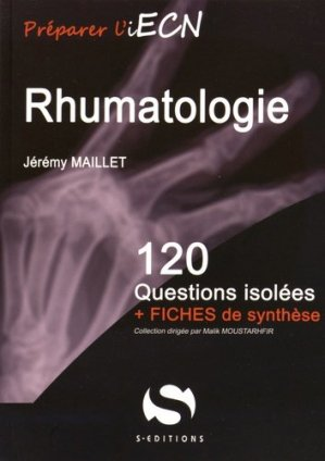 Rhumatologie - s editions - 9782356401410 -