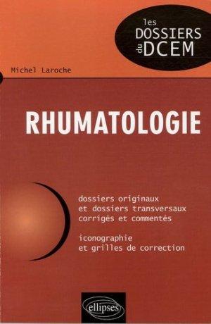 Rhumatologie - ellipses - 9782729822224 -