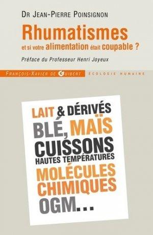 Rhumatismes - francois-xavier de guibert - 9782755403596 -
