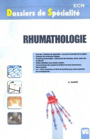 Rhumatologie - vernazobres grego - 9782818302996 -