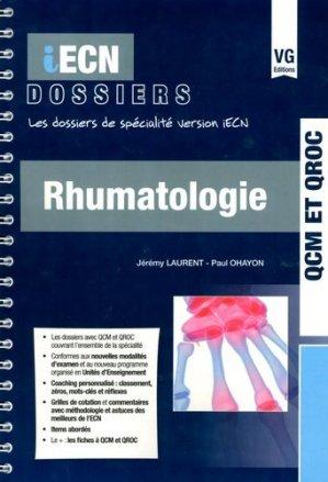 Rhumatologie - vernazobres grego - 9782818314838 -