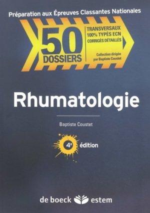 Rhumatologie - estem - 9782843716072 -