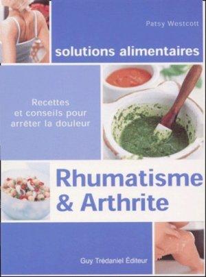 Rhumatisme et arthrite - guy tredaniel editions - 9782844452757 -