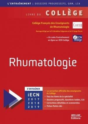 Rhumatologie - med-line - 9782846782098 -