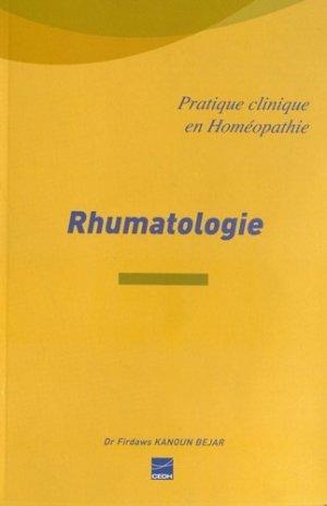 Rhumatologie - cedh - 9782915668650 -