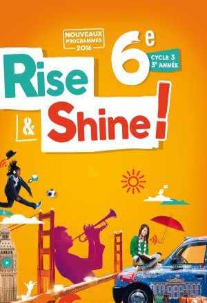 Rise and Shine 6e : Livre - Didier - 9782278085989 -