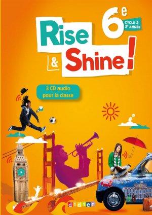 Rise and Shine 6e : Coffret pour la Classe 3 CD Audio et 1 DVD - didier - 9782278086085 -