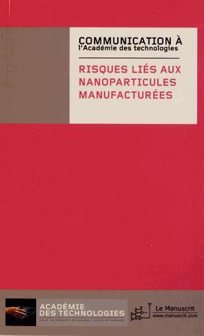 Risques liés aux nanoparticules manufacturées - le manuscrit - 9782304039542 -