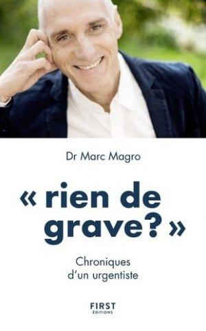 Rien de grave ? - first editions - 9782412016671 -
