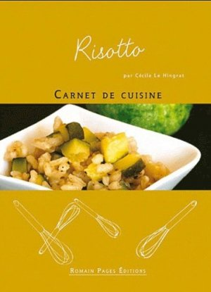 Risotto - Romain Pages - 9782843503863 -