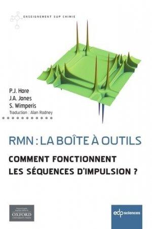RMN : la boîte à outils - edp sciences - 9782759821228 -